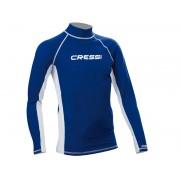 Camiseta CRESSI - Manga Longa UV50 Azul