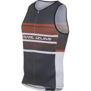 PEARL iZUMi ELITE In-R-Cool LTD triathlon kleding oranje/zwart 2016 Triathlon kleding