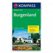 Kompass - Burgenland - Wanderkarte
