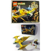 Lego Star Wars 1999 Naboo Fighter 7141 aperto