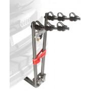 Mottez Porte-vélos sur attelage compact 3 vélos Noir