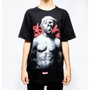 Camiseta Chronic Shakur Skull Preta