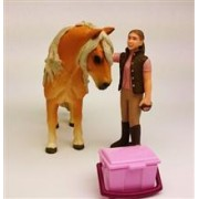 Groom With Icelandic Pony Schleich-41431