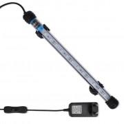vidaXL LED akvarijní lampa 28 cm - modré světlo