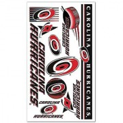 Carolina Hurricanes Official NHL 4 inch x 7 inch Temporary Tattoos by Wincraft