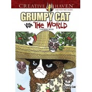 Creative Haven Grumpy Cat vs. the World Coloring Book
