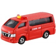 Takara Tomy Tomica No.27 Nissan NV350 Caravan Fire Chief Car