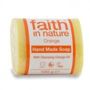 Sapun cu portocale - Faith in Nature Longeviv.ro