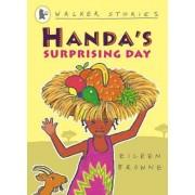 Handa's Surprising Day by Eileen Browne