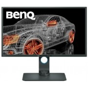 "Monitor IPS LED BenQ 32"" PD3200Q, WQHD (2560x1440‎), DVI, HDMI, DisplayPort, USB 3.0, Boxe, Pivot, 4 ms (Negru)"