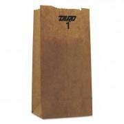 #1 Paper Grocery Bag, 30lb Kraft, Standard 3 1/2 X 2 3/8 X 6 7/8, 8000 Bags