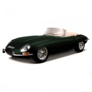 Modèle Réduit Jaguar E Cabriolet (1961) : Collection Gold Echelle 1/18 : Vert