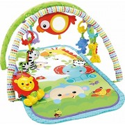 Fisher Price 3-in-1 Musical Activity Gym, Multi Color