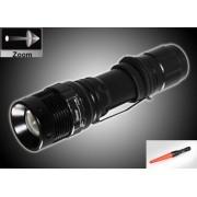 GL-550-TRAFFIC-WAND- акумулаторен CREE LED прожектор с регулировка на фокуса и палка за трафик