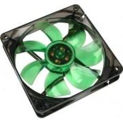 Ventilator Carcasa Cooltek Silent Fan 120 Green LED 1200rpm