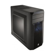 Gabinete Corsair Carbide SPEC-02 LED Azul, Midi-Tower, ATX/micro-ATX/mini-iTX, USB 3.0, sin Fuente, Negro