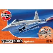QUICK BUILD Eurofighter Typhoon Airfix J6002