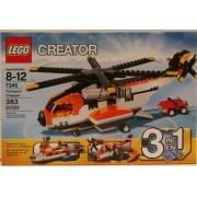 LEGO 7345 Creator Transport Chopper 3 in 1 Set SeaPlane Ferry by Lgp