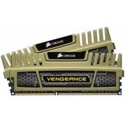 Corsair 8 GB DDR3-RAM - 1600MHz - (CMZ8GX3M2B1600C9G) Corsair Vengeance Grün Kit CL9
