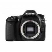 Cámara Reflex Canon Eos 80D Cuerpo + Tarjeta de Memoria SD 8 gb Clase 4-Azul