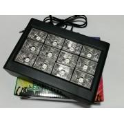 Мощен LED диодед стробоскоп цветен Strobe 12