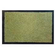 Proper Tex - Zerbino in tinta unita, 100% poliammide, verde, 60 x 40 cm