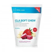 Total Lean CLA Soft Chew Strawberry Banana Smoothie 60 caramele GNC