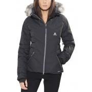Salomon Icetown Jacket Women black XL Daunenjacken