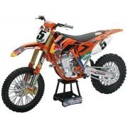 New Ray - 57633 - Véhicule Miniature - Modèle À L'échelle - Moto Cross Ktm Sxf 450 R. Dungey - Echelle 1/12-Newray