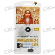 Universal 13mm Wide-Angle/0.67X Macro Lens Attachment for Digital Cameras and Cell Phones