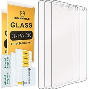 [3-PACK]-Mr Shield For Microsoft (Nokia) Lumia 650 [Tempered Glass] Screen Protector with Lifetime Replacement Warranty