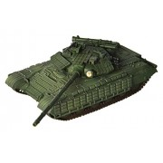 modelcollect as72030 montado Modelo Soviet Army T de 72B MAIN Battle Tank, Moscow