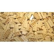 200 TAN Light Brown or flesh 2x4 Generic Building Bricks Alternative Option to Lego 2x4 3001 Brick