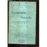 Economie Sociale Les Institutions Du Progres Social Au Debut Du Xxe Siecle.