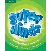 Super Minds Level 2 Workbook with Online Resources by Herbert Puchta
