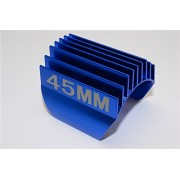 Aluminium Motor Heat Sink Mount 45mm For 1/10 05, 540, 360 Motor - 1Pc Blue