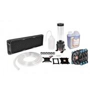 Thermaltake PACIFIC DIY LCS R360 D5 Res Pump Riing Blue LED Edition Water Cooling Kit CL-W115-CA12BU-A