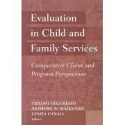 Evaluation in Child and Family Services by Tiziano Vecchiato