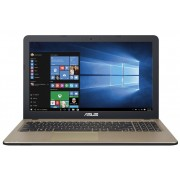 "Asus VivoBook X540SA Notebook Celeron Quad N3150 1.60Ghz 2GB 500GB 15.6"" WXGA HD IntelHD BT Win 10 Home"