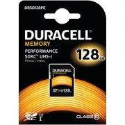 Duracell 128GB SDXC Class 10 UHS-I Memory Card (DRSD128Pe)