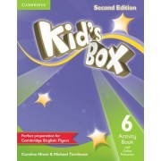 Kid's Box Level 6 Activity Book with Online Resources by Caroline Nixon