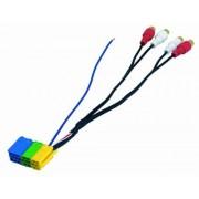 Phonocar 4/195- Cable adaptador para antena (conector mini ISO a RCA), multicolor