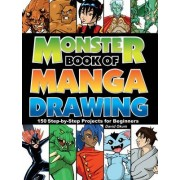 Monster Book of Manga Drawing by David Okum