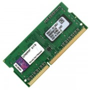 4GB DDR3 PC10600 1333MHz Kingston SODIMM KVR13S9S8/4 laptop memoria