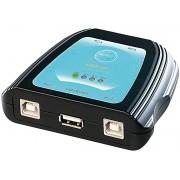 USB-Switch für 1 USB-Gerät an bis zu 4 PCs
