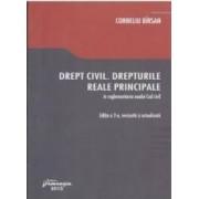 Drept Civil. Drepturile Reale Principale In Reglementarea Noului Cod Civil Ed.2 - Corneliu Birsan