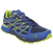 The North Face Ultra Endurance Shoes Men cosmic blue/macaw green 43 Running