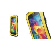Etui Love Mei do Samsung Galaxy S5 ZAOKRĄGLONY - Żółty