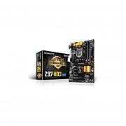 Tarjeta Madre Gigabyte GA-Z97-HD3 LGA1150 E-ATX para Intel Core i7