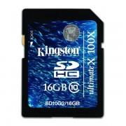 16GB SDHC Class 10